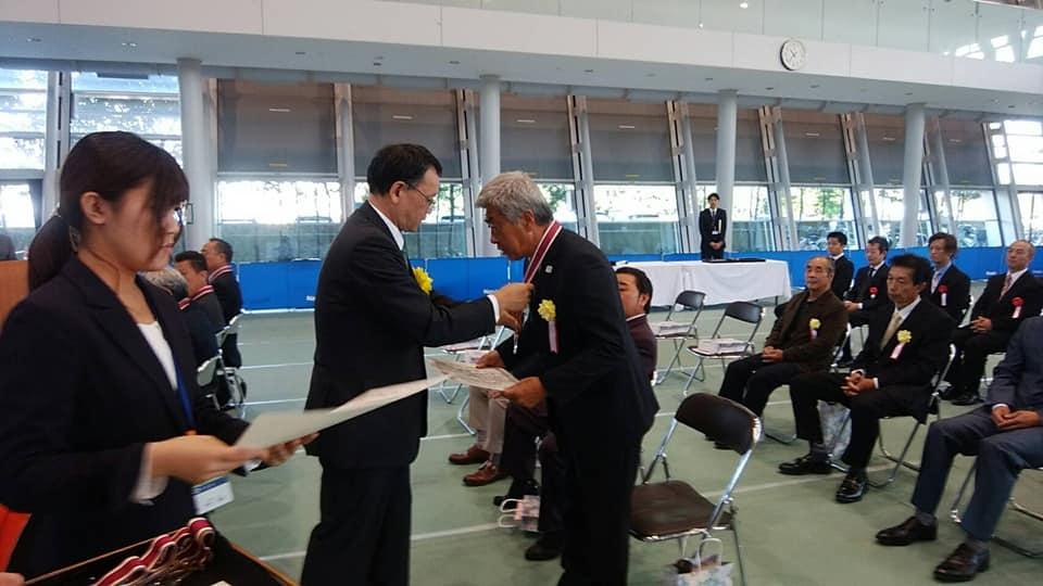 会長が、平塚市技能功労者表彰受賞しました