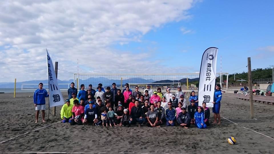 ひらつかビーチパークで三興CUPビーチバレー公認大会ツアー第6戦開催!!